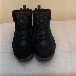 Size 11 1/2 Jordan's  black
